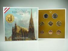 *** EURO KMS ÖSTERREICH 2006 HGH Handgehoben Austria Kursmünzensatz Coin Set ***