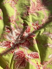 Pottery Barn Paisley Floral Shower Curtain And Matching Towels