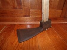 Antique Log Hewing Adze Timber Frame Log Cabin Hand Hewn Log Tool Primitive