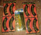 TOYSRUS SPECIAL SQUEEZE 8 PAIR TYCO HO SLOT CAR TRACK MINT PACKAGES 9'' CURVES