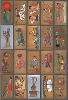 1928 Cavanders Ancient Egypt Tobacco Cards Complete Set of 25