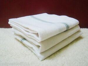 Handkerchiefs 6 Men 100% Cotton 42cm Square White Centre Satin Border