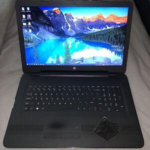 HP 17.3 inch (1TB, Intel Core i7 - 7500U, 8GB RAM) With Windows 10 PRO