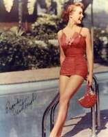 JANET LEIGH PSA DNA Coa Hand Signed 8X10 Photo Autograph Authenticated