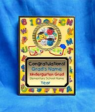 Graduation Kindergarten Preschool Custom Personalized Award Plaque Gift Grad