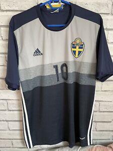 Sweden Euro 2016 Away Shirt Ibrahimovic #10 L
