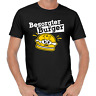 Besorgter Burger Bürger Hamburger Cartoon Comedy Spaß Fun Sprüche Lustig T-Shirt