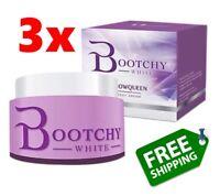 3x White Bootchy Body Cream Bikini Dark Skin Armpit Buttock Knee Elbow Whitening