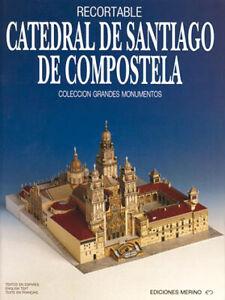 Kartonmodell Kathedrale von Santiago de Compostela 1:400 Merino