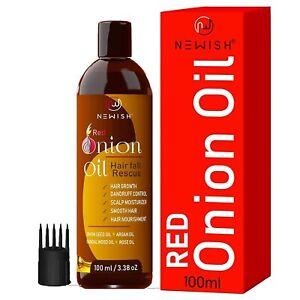 Newwish® Onion hair oil for Hair Growth & Hair fall Control (100ml)