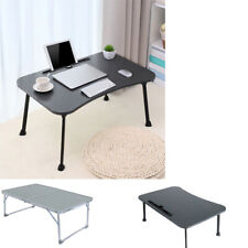 Foldable Portable Laptop Stand Bed Lazy Laptop Table Small Desk Breakfast Tray
