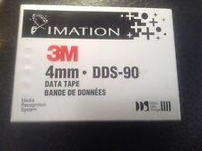 Imation 3M 4mm DDS-90 data tape digital data storage factory sealed