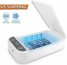 UV Ultraviolet Cell Phone Sterilizer-Sanitizer-Box-Disinfection Case Cleaner UVC