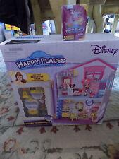 Lot Happy Places Shopkins Happy Townhouse Playset w Belle decor & Surprise toy