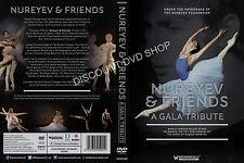 Nureyev & Friends A Gala Tribute (2015) New DVD