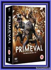 PRIMEVAL - COMPLETE SERIES 1 2 3 4 & 5 **BRAND NEW DVD BOXSET**