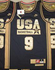 USA Olympics 1992 MICHAEL JORDAN DREAM TEAM Jersey S XL NWT NEW Nike Blue