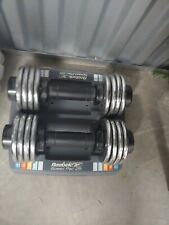 Reebok Speed Pac SpeedPac Dumbbell Set Of Two (2) 25 Pound Adjustable Weights
