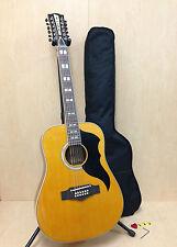 06217119 Eko Ranger XII VR Natural 12-String Acoustic Guitar,Adjustable Saddle