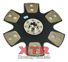 "XTR STAGE 4 RIGID CERAMIC CLUTCH 10.5"" RACE DISC FORD MUSTANG GT COBRA SVT 8CYL"