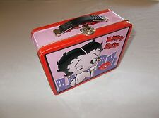 Tin Box Company 2000 King Features Syndicate Betty Boop Girls tin lunchbox VGC