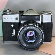 Zenit E 35mm SLR Film Camera W/ Helios 44M Lens 58mm F2 Working Order! Lomo