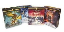 The Heroes of Olympus Books 1-4 CD Audiobook Bundle: Book One: The Lost Hero; Bo