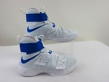 Pre-owned Nike LeBron Soldier X 'Cobalt Blue' Mens Shoes Size 10.5