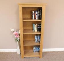 Oak Bookcase Shelving Storage Unit140cm x 60cm various sizes available