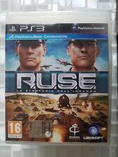 PS3 SONY PLAYSTATION 3 RUSE R.U.S.E. LA STRATEGIA DELL'INGANNO