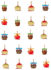 Candy Apples Waterslide /Water Transfer Nail Decals/Nail art