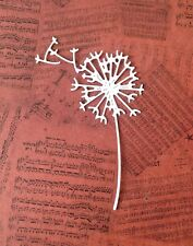 Tattered Lace Dandelion Die-Cuts (White - Pack Of 8)