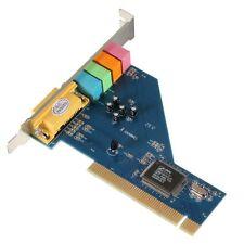 Scheda audio pc 4 canali 8738 Chip audio 3D stereo PCI 64 bit HK