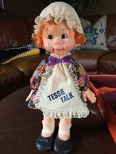 1974 HORSMAN doll Tessie Talk VENTRILOQUIST Doll NEW OLD STOCK 1970'S VINTAGE