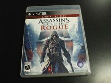 Replacement Case (NO GAME) ASSASSINS CREED ROGUE LIMITED EDITION PLAYSTATION 3