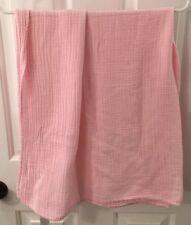 New listing Koala Baby Cotton Baby Receiving Blanket Girls Pink Muslin Gauze Swaddling Euc