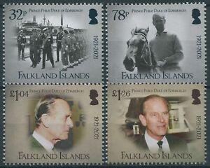 Falkland Islands 2021 MNH Royalty Stamps Prince Philip Duke of Edinburgh 4v Set