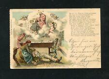 Gedichtkarte  Ottmar Zieher - München 1898  (KA-10)