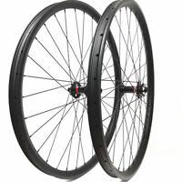 29er Carbon wheelset 35mm width mountain bike wheels with Novatec boost hubs