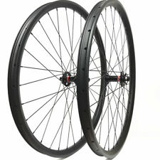 29er Carbon wheelset 35mm width mountain bike wheels with Novatec boost hubs