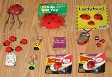 Huge Ladybugs Knick Knack Collection / Lot. Most items new w/stickers or Nip.