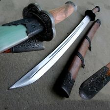 Chinese Martial arts KUNG-FU Broadsword sword knife High Carbon Steel Blade#0020