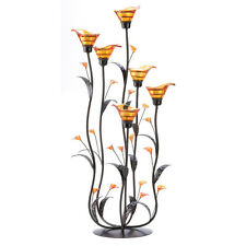 Amber Calla Lily Candle Holder Tree