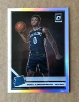 2019-20 Donruss Optic Holo Nickeil Alexander-Walker Rated Rookie RC Pelicans