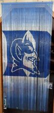 NIB Duke Blue Devils Bamboo Beaded Room Divider/Curtain 3X6 ft Man Cave Art LOOK