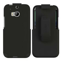 OEM Seidio Surface Combo Holster&Case Cover For HTC One 2 M8 W/KickStand Black