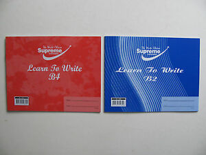 Learn To Write Exercise Book Words Early Years School Handwriting NEW