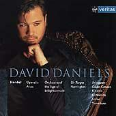 Handel : Operatic Arias : David Daniels (CD, Oct-1998, Virgin)