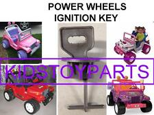 """Power Wheels Ignition Key For The Dashboard With 7/8"""" Diameter Cylinder"""