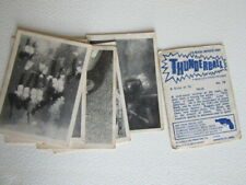 Somportex 1967 ~ James Bond OO7 Thunderball Cards Card Variants (e10)
